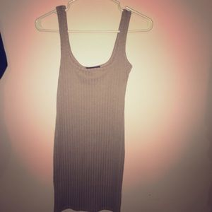 Pink and grey dress!